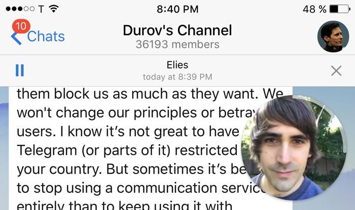 Video Messages and Telescope in Telegram 4.0 Update
