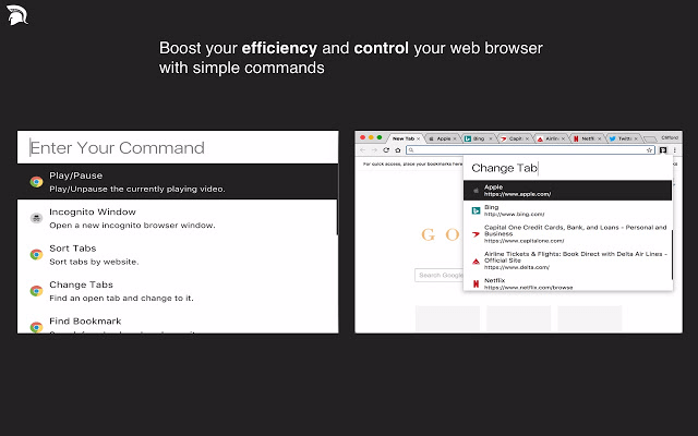 Cato Command Launcher for Chrome