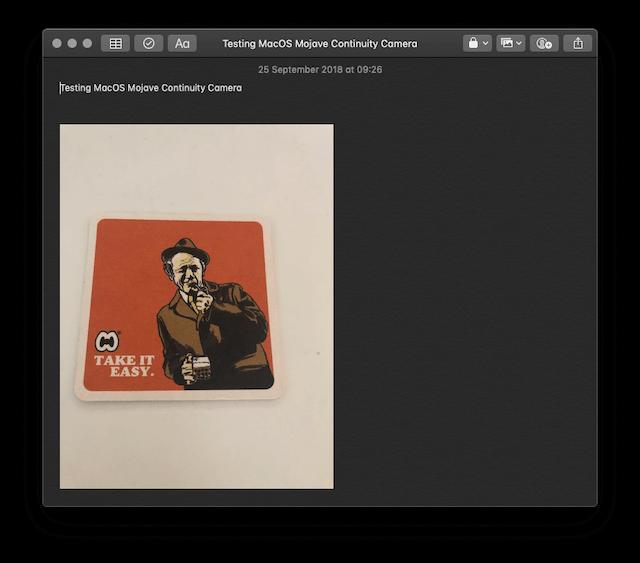 How to Use MacOS Mojave Continuity Camera