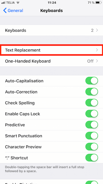 Stop iPhone Replacing F Word with Ducking