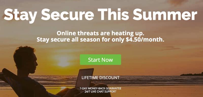 IPVanish VPN $4.50 a Month for Life