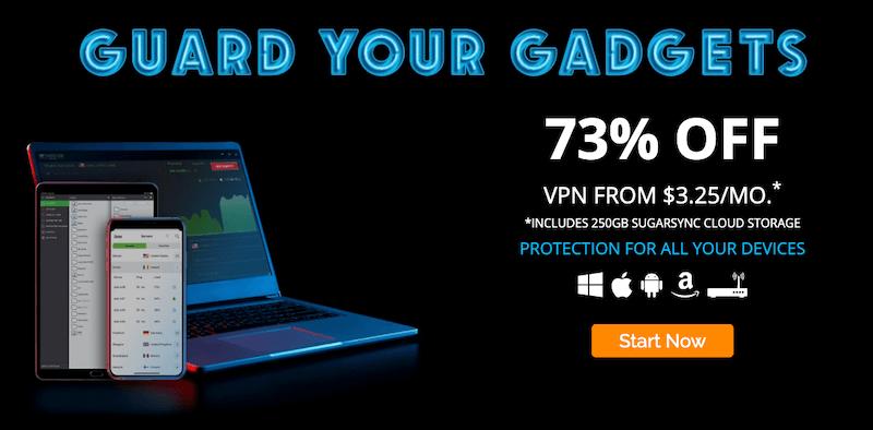 Guard Your Gadgets - 73% Off IPVanish VPN